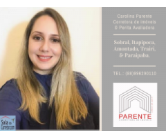 Carolina Parente - CRECI/CE 18.110F
